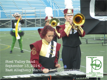East Allegheny High School Marching Band Competition