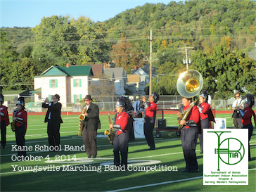 Youngsville High School Marching Band Competition October 4